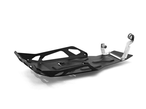 Protecție motor Enduro din aluminiu, neagră