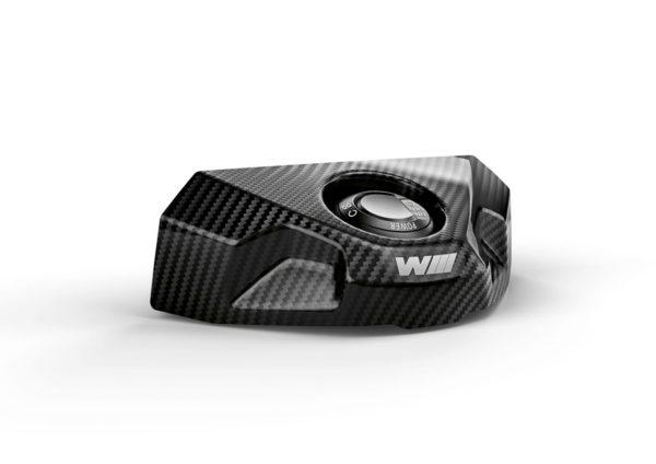 Capac pentru contact/blocator de ghidon M Carbon