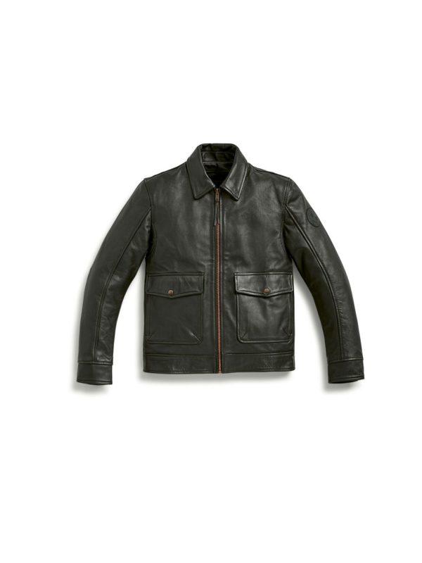 Jachetă de piele Engineer